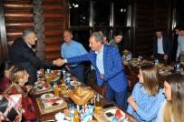 MEHMET TÜRK - Başkan Akkaya'dan Hakim Ve Savcılara İftar