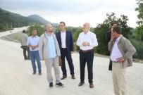 ÇAMLıCA - Başkan, Duble Yol Çalışmalarını Yerinde İnceledi