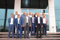 MEHMET KAPLAN - Başkan Uslu'ya 'Hayırlı Olsun' Ziyareti