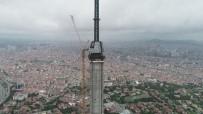 ÇAMLıCA - Çamlıca Kulesi Eyfel'i Geçti