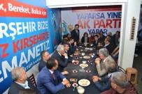 AK PARTİ İL BAŞKANI - Cumhuriyet Halk Partisi İl Teşkilatı , Ak Parti Seçim Bürosunu Ziyaret Etti