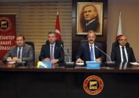SANI KONUKOĞLU - GSO'da Mayıs Ayı Meclis Toplantısı Yapıldı