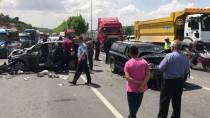 SİVİL POLİS - İki Ayrı Trafik Kazasında 6 Kişi Yaralandı