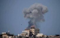 HAVAN MERMİSİ - İsrail Ordusu Açıklaması 'Gazze'de 35 Hedefi Havadan Vurduk'