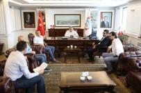 KAYSERI TICARET ODASı - KTO Emlak Komitesi Üyeleri Melikgazi Belediyesini Ziyaret Etti
