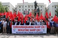 MUSTAFA ÖZDEMIR - Nevşehir'de Sivil Toplum Örgütleri, Cumhurbaşkanı Erdoğan'ı Desteklediklerini Açıkladı