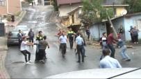 NURTEPE - Sokağı Savaş Alanına Çeviren Şoföre Mahalleli Saldırdı