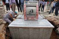 MOSTAR - Suluova'da Çöp Konteynerleri Yer Altına Alınıyor