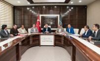 TAKVA - Vali Zorluoğlu'ndan VANTSO Başkanı Takva'ya Ziyaret