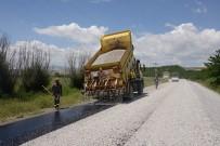 BAŞPıNAR - Yazıhan'da 20 Km'lik Grup Yolu Asfaltlanıyor