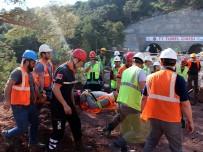 AFAD'tan Tünel Çalışanlarına Destek