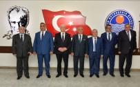 HAYDAR ALİYEV - Azerbaycan Heyeti Büyükşehir'i Ziyaret Etti