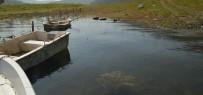 Barajda Kaçak Balık Avlayanlara Operasyon