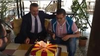 AHMET OKTAY - Başkan Tutal'dan Engelli Gence Doğum Günü Sürprizi