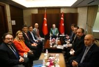 SAMSUNG - Cumhurbaşkanı Erdoğan, LG Firması Yöneticilerini Kabul Etti