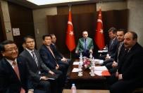 SAMSUNG - Erdoğan, LG Firması Yöneticilerini Kabul Etti