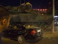 KıŞLA - Darbeci binbaşıdan 'tanklarla ezin geçin' emri
