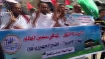 MISIR CUMHURBAŞKANI - Filistinlilerden Mısır Ve Suudi Arabistan'a İhramlı Protesto