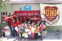 SOSYAL PROJE - Galatasaray Taraftar Grubundan Isparta'daki Köy Okuluna Kütüphane