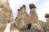 FOTOĞRAFÇILIK - Gelin, Damat Fotoğrafları İçin Kapadokya'ya Akın Ediyorlar