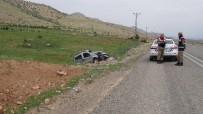 Gercüş'te Otomobil Takla Attı Açıklaması 1'İ Ağır, 3 Yaralı