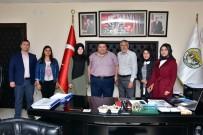 NENE HATUN - İnönü Nene Hatun Mesleki Ve Teknik Anadolu Lisesi'nden Başkan Bozkurt'a Teşekkür Ziyareti