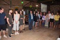 ERASMUS - Konuk Öğrencilere Katılım Belgeleri Verildi