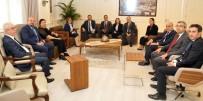 FATMA ŞAHIN - Konukoğlu'ndan Başkan Fatma Şahin'e Ziyaret
