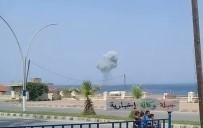 LAZKİYE - Suriye'de Rus savaş uçağı düştü