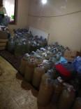 Susurluk'ta Kaçak İçki İmalathanesine Baskın Yapıldı