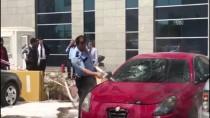 ANADOLU ADALET SARAYI - Yanan Otomobili TOMA Söndürdü