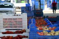 SİVRİ BİBER - Antalya Sebze Halinde Ramazan Durgunluğu