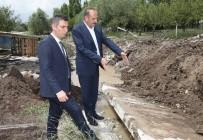 MOGAN - Başkan Duruay Su Kesen Deresi'nde İncelemelerde Bulundu