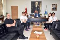 SU SPORLARI - Başkan Kadir Albayrak Sporcuları Ağırladı