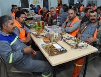 SÜLEYMAN ERDOĞAN - Dev projenin emekçileri iftar ve sahuru şantiyede yapıyor