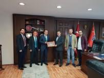 KEMAL ŞAHIN - Emniyet Müdürü Çevik TİSAD'ı Kabul Etti