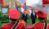 GÜRCİSTAN CUMHURBAŞKANI - Ermenistan Başbakanı Paşinyan Tiflis'te