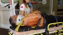 ÜST GEÇİT - Hastaneden Taburcu Olur Olmaz Otomobil Çarptı