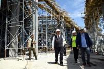 YUSUF ZIYA GÜNAYDıN - Isparta'da 120 Milyon Yatırımlı Otogar İnşaatı Hızla Yükseliyor