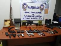 BOSTANLı - İzmir'de Kaçak Silah İmalathanesine Operasyon