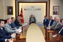 Kurum Amirleri Toplantısı Vali Ali Hamza Pehlivan Başkanlığında Yapıldı