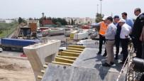 KAZANLı - Mezarlık Kavşağı 13 Haziran'da, Liman-Hal Kavşağı Temmuz'da Açılıyor