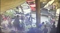 GAZİ MAHALLESİ - Pazarcıların Silahlı Kavgası Güvenlik Kamerasında