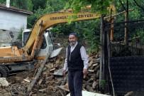 HASAN YıLDıZ - Sel Felaketinde Evi Yıkılan Hasan Amca'ya Osmangazi Belediyesi Sahip Çıktı