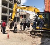 Sivas'ta Alt Yapı Çalışması Sırasında Doğalgaz Borusu Patladı