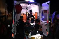 GÖKÇEÖREN - Tır Kamyona Arkadan Çarptı Açıklaması 2 Yaralı