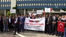 MEHMET ACAR - TRT Çalışanlarına Yönelik Saldırılar Protesto Edildi