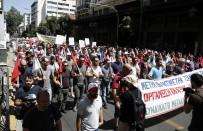 ÇALIŞAN GAZETECİLER - Yunanistan'da 24 Saatlik Grev