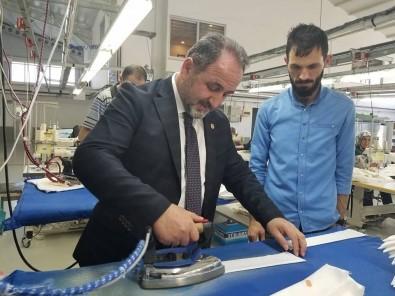 AK Parti Milletvekili Demir, OSB'yi Ziyaret Etti