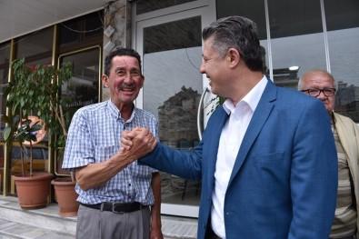 AK Parti'nin Adayı Özkan Çalışmalarını Demirci'de Sürdürdü